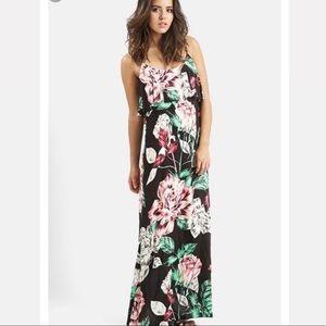 Kendall + Kylie Floral Maxi Dress